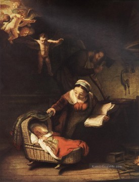 Rembrandt van Rijn Werke - The Holy Family with Angels Rembrandt
