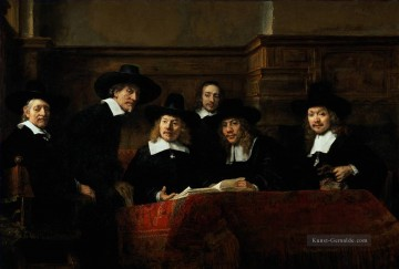 Rembrandt van Rijn Werke - The Sampling Officials Rembrandt