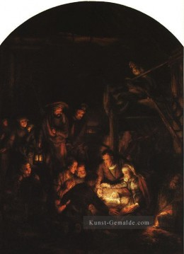 Rembrandt van Rijn Werke - Adoration of the Schäfer Rembrandt
