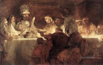 Rembrandt van Rijn Werke - The Conspiration of the Bataves Rembrandt