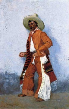 American Maler - A Vaquero Old American West Frederic Remington