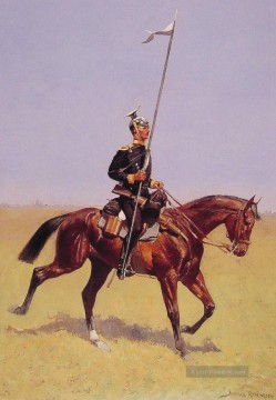 Frederic Remington Werke - Uhlan Old American West Frederic Remington