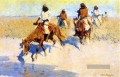 Pool in der Wüste Old American West Frederic Remington