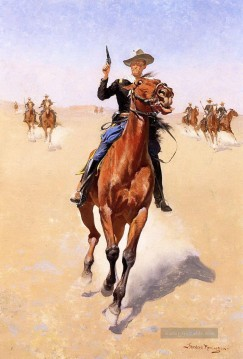 Frederic Remington Werke - der Soldat 1892 Frederic Remington