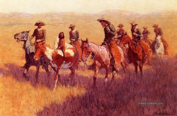 Frederic Remington Werke - An Assault on His Dignity Old American West Frederic Remington