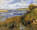 banks of the seine at champrosay Pierre Auguste Renoir