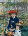 Two Sisters On the Terrace Renoir