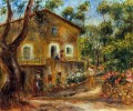 Haus in collett bei cagnes Pierre Auguste Renoir