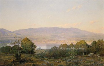 Richard Malerei - Sundown At Center Harbor New Hampshire Szenerie William Trost Richards