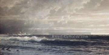 Richard Malerei - in der Nähe von Lands End Cornwall Szenerie William Trost Richards
