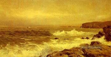 Meer Kunst - Rocky Meerküste Szenerie William Trost Richards