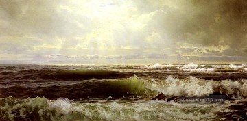 Richard Malerei - Der Schaffold Eastons Punkt Newport Szenerie William Trost Richards