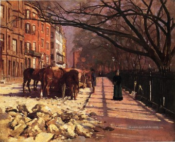 Street Kunst - Beacon Straße Boston Theodore Robinson