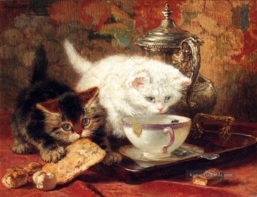 High Tea Tier Katze Henriette Ronner Knip