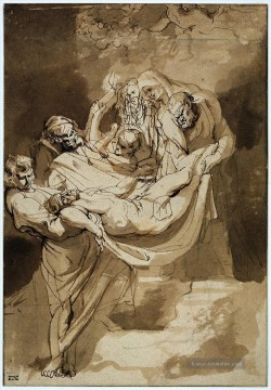 Peter Paul Rubens Werke - Peter Paul Entombment Barock Peter Paul Rubens