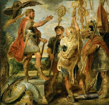 Peter Paul Rubens Werke - Decius Mus die Legions Peter Paul Rubens Addressing