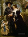 Rubens his wife Helena Fourment and their son Peter Paul Barock Peter Paul Rubens