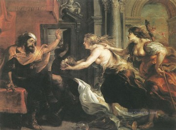 Peter Paul Rubens Gemälde - Tereus Confronted with the Head of his Son Itylus Barock Peter Paul Rubens