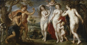 The Judgment of Paris 1639 Barock Peter Paul Rubens