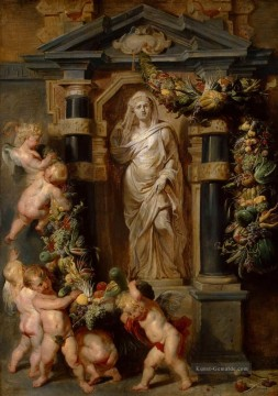 The Statue of Ceres Barock Peter Paul Rubens