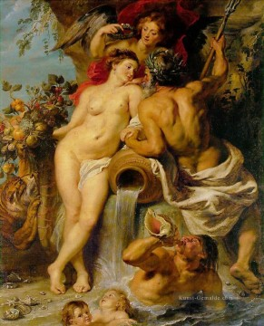 The Union of Earth and Water Barock Peter Paul Rubens