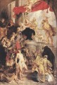 Bethrotal Katharinen Skizze Barock Peter Paul Rubens