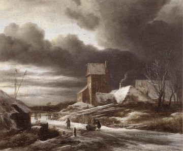 Winter Galerie - Winter Landschaft Jacob Isaakszoon van Ruisdael