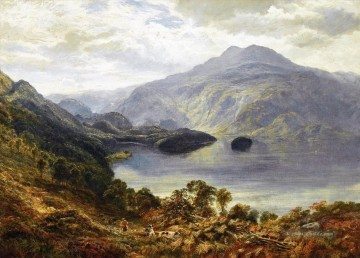 Shoot Kunst - Die Highland Shuw Schlägel Landschaft Samuel Bough