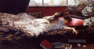 Art Galerie - An Idle Nachmittags Frau Julius LeBlanc Stewart