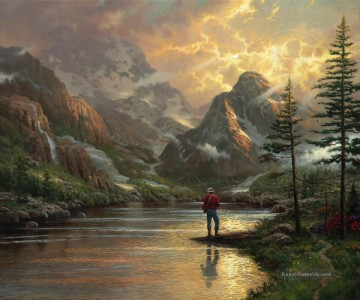 Almost Heaven Thomas Kinkade Ölgemälde