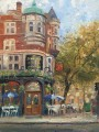 Bloomsbury Cafe Thomas Kinkade