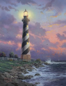 Thomas Kinkade Werke - Cape Hatteras Light Thomas Kinkade
