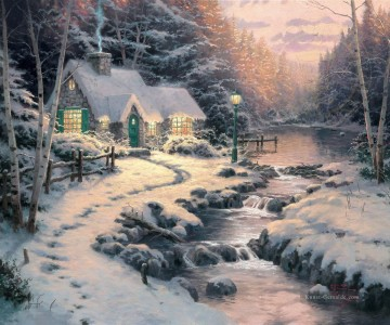 Thomas Kinkade Werke - Evening Glow Thomas Kinkade
