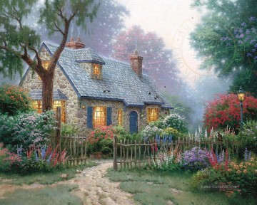 Fingerhut Cottage Thomas Kinkade Ölgemälde