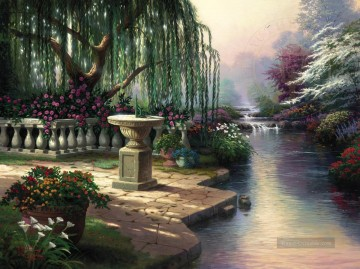 Thomas Kinkade Werke - Hour of Prayer Thomas Kinkade