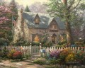 Liberty Lane Cottage Thomas Kinkade