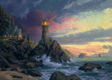 Thomas Kinkade Werke - Rock Of Salvation Thomas Kinkade