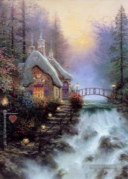 Thomas Kinkade Werke - Sweetheart Cottage II Thomas Kinkade