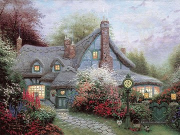 Thomas Kinkade Werke - Sweetheart Cottage Thomas Kinkade