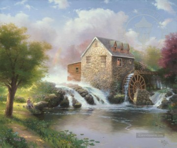 Thomas Kinkade Werke - The Blessings Of Summer Thomas Kinkade