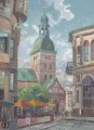 The Dome Cathedral Riga Latvia Thomas Kinkade