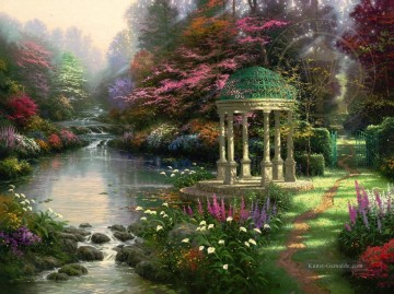 Thomas Kinkade Werke - The Garden Of Prayer Thomas Kinkade
