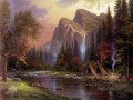The Berge Declare His Glory Thomas Kinkade