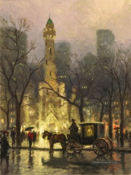 Thomas Kinkade Werke - Water Tower Chicago Thomas Kinkade