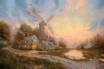 Thomas Kinkade Werke - The Wind Of The Spirit Thomas Kinkade