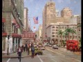 Union Square San Francisco Thomas Kinkade