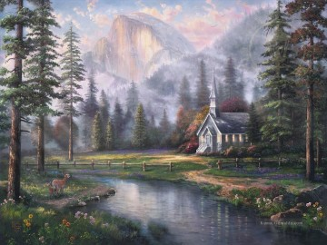 Thomas Kinkade Werke - Talkapelle Thomas Kinkade