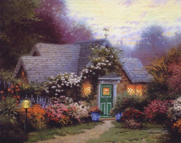 Thomas Kinkade Werke - Weathervane Hutch Thomas Kinkade