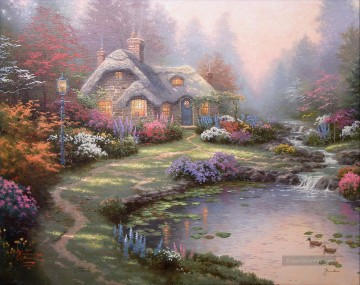 Thomas Kinkade Werke - Everett Cottage Thomas Kinkade