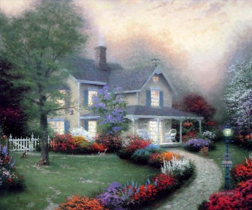Thomas Kinkade Werke - Home Is Where The Heart Is Thomas Kinkade